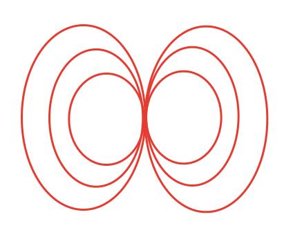 Эквипотенциальная поверхность магнитной компоненты шаг 1