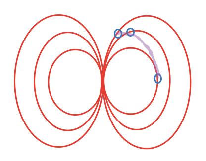 Эквипотенциальная поверхность магнитной компоненты шаг 5